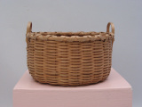 Iroquois (New York) woven basket (early 20th Century)