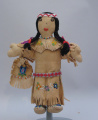 Chippewa (Great Lakes) female doll (C. 1970)