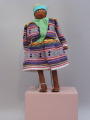 Seminole (Florida) Palmetto doll (C. 1960's)
