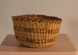 Hupa twined basket (Date Unknown)