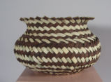 Tarahumara basket with flared top (c 2000)