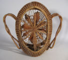 Coushatta ornate basket (c 1920's)