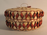 Potawatomi large ribbon basket (1991)
