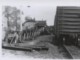 Train Derailment in Mount Prospect, October 1959