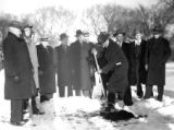 Municipal Building Groundbreaking, 1947