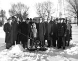 Municipal Building Groundbreaking, 1947--B