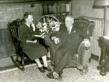 William and Dina Busse, 1940