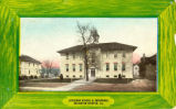 St. Peter Lutheran School and Parsonage, Postcard