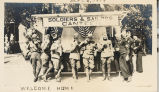 World War I Homecoming Parade - Canteen for Soldiers and Sailors