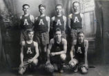 Arlington Heights High School Basketball Team of 1916