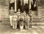 North Side Schools  Basketball Team