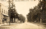 Dunton Avenue looking north, Postcard