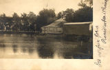 Meyer's Park and Pond, Postcard
