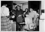 Registration of students for day classes at Elgin Community College in September 1959.