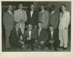 Photograph of 1956-57 Elgin Community College Basketball Team.
