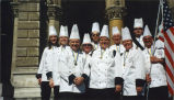 Culinary students in Austria