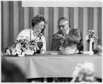 Erika Varrik and Gil Renner at her Retirement Celebration in 1978