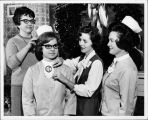 Nursing Students at Junior Service Board's 1965 Christmas Tea.