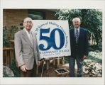 Founding board members Robert Hoffer and Harry Blizzard