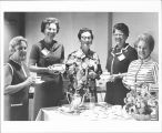 Elgin Symphony Orchestra Women's League Members in September 1971.