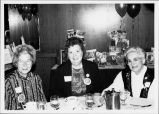 Erika Varrak, Josephine Homuth, and Martha Bolling at ECC's 40th Anniversary
