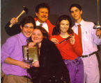 "Cast of ""The Compleat Works of Wllm Shkspr, -abridged-"", Lake Forest Academy, 1998"