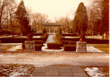 Formal Gardens, Lake Forest Academy, circa 1980s