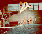 Diving, Lake Forest Academy, 1960s