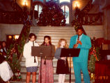Holiday Boutique Student Performance, Lake Forest Academy, 1993