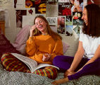 Students in a Dormitory Room, Lake Forest Academy, circa 1996