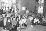 Senior Class, Ferry Hall, 1956
