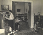 Library Browsing Room, Ferry Hall, circa 1940.