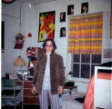 Student in Dormitory Room, Ferry Hall, 1969