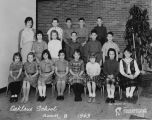 Oaklane Elementary School Room 8 Class Photo 1963