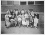Northbrook School Class Photo - Older Students Circa 1930's