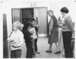 Classroom Visit to the New Greenbriar Elementary School Library 1985