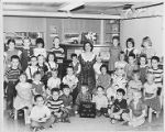 Crestwood School P.M. Kindergarten Class Photo 1954