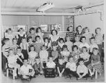 Crestwood School A.M. Kindergarten Class Photo 1954