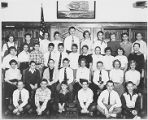 Crestwood School Grade 7-1 Class Photo 1956