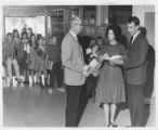 Superintendent Homer O. Harvey At  Meadowbrook Elementary School Reading Activity 1966