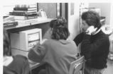 Student Using Computer 1989