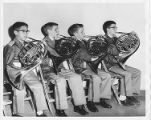 Northbrook Elementary-Level Concert Band French Horn Section 1961
