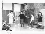 Greek Dancing Lesson at Meadowbrook Elementary School Circa 1990