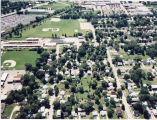 Loves Park aerial view showing Warner Lambert