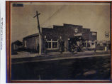 Blume's Garage in Loves Park, 1922