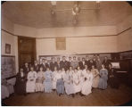 Harlem Consolidated School Grange meeting, 1914