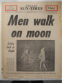 Newspaper Chicago Sun-Times 07-21-1969