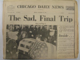 Newspaper Newspaper Chicago Daily News