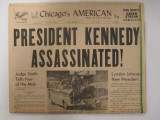 Newspaper, Chicago's American 11-22-1963