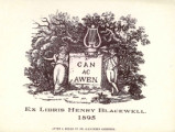 Henry Blackwell, Can ac awen